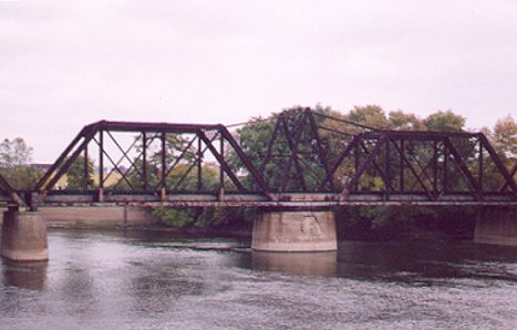 CSX Grand River Swing Bridge Grand Rapids 2002
